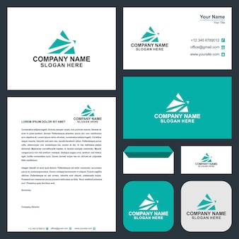 Logo travel and business card