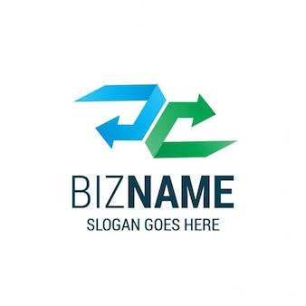 Абстрактный стрелка логотип