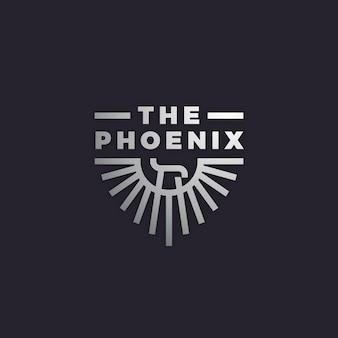 Logo with phoenix