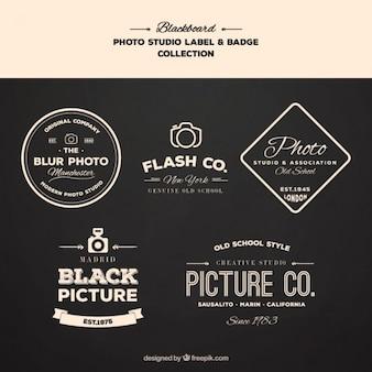 Logos for photography topics
