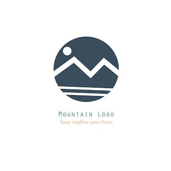 Logotipo de montañas