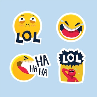Смешные наклейки lol