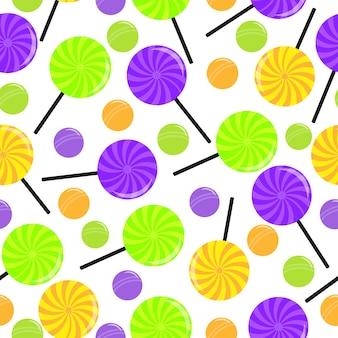 Lolipop pattern background