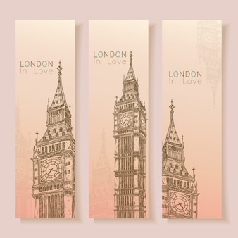 London banners collection
