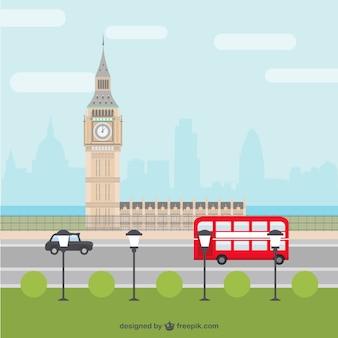London city cartoon