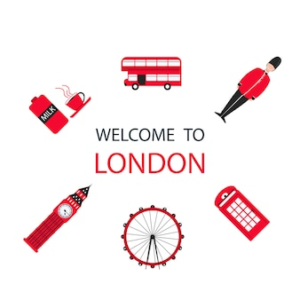 London city travel holiday background