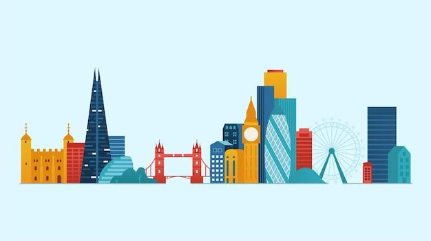 런던 유명한 장소 및 랜드 마크