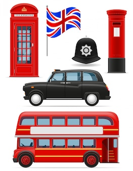 London set icons.