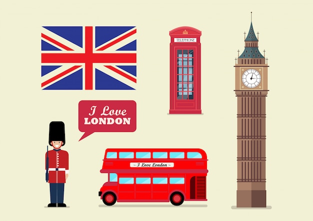 London tourist landmark national symbols