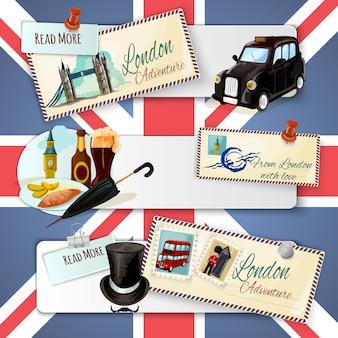 Лондонский туристический баннер