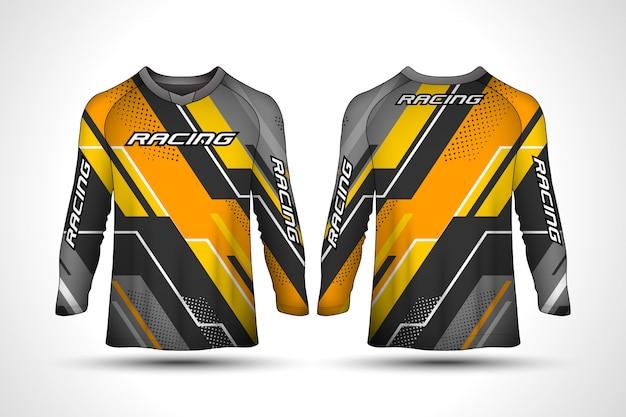 Long sleeve sport jersey