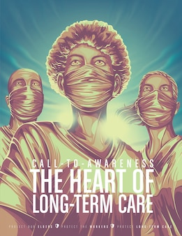 Long term care workers awareness poster
