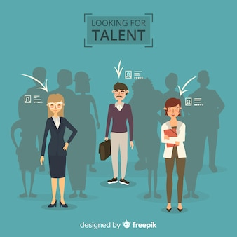 Looking for talent background