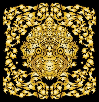 Lord hanuman king of monkey
