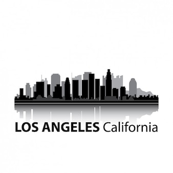 Los angeles skyline design