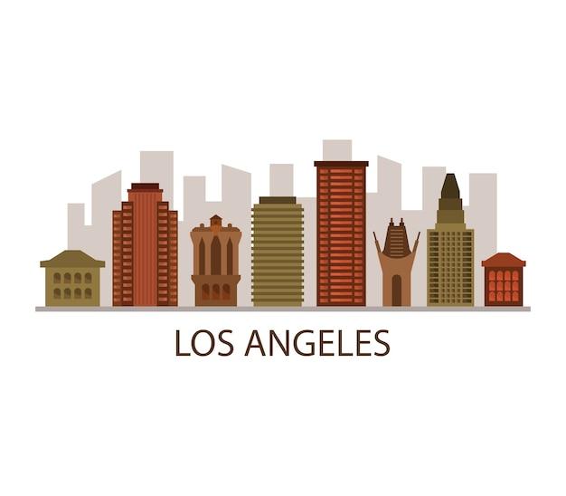 ロサンゼルスのスカイライン