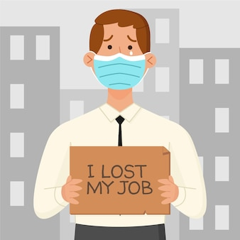 Loss job due to coronavirus crisis