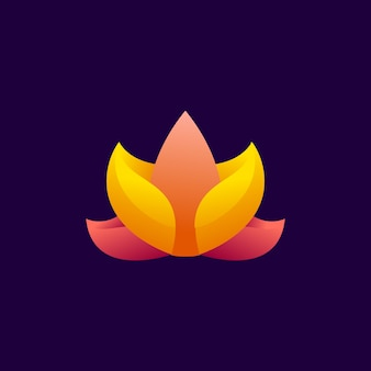 Lottus modern logo