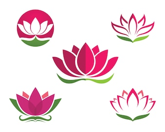 Lotus Flower Logo Vectors, Photos and PSD files | Free Download
