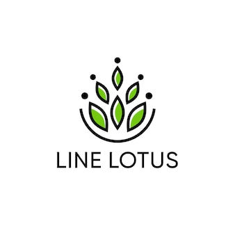 Lotus logo design for fashion and boutique