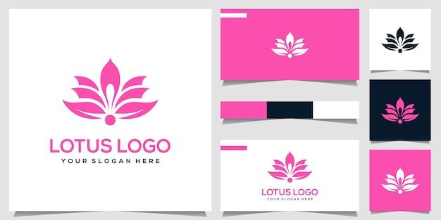 Дизайн логотипа лотоса