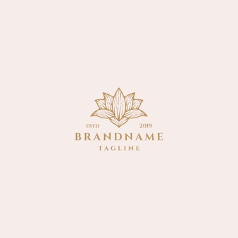 Концепция дизайна логотипа lotus.