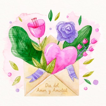 Любовь и день дружбы концепция