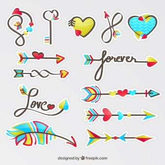 Love arrow collection