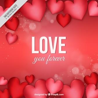 마음 가득한 사랑 배경