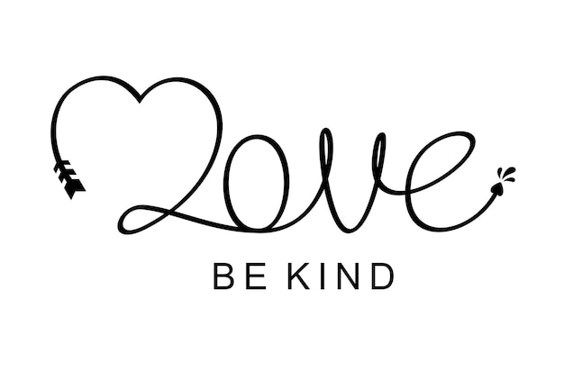 Люби будь добрым