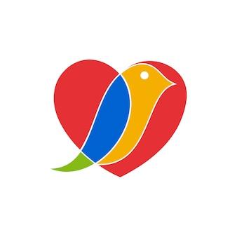 Логотип love bird