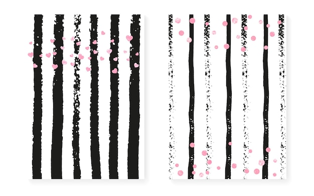 Love border. pink gatsby effect. stripe birthday card. mothers painting. save date starburst set. golden retro concept. white scatter wallpaper. pink love border