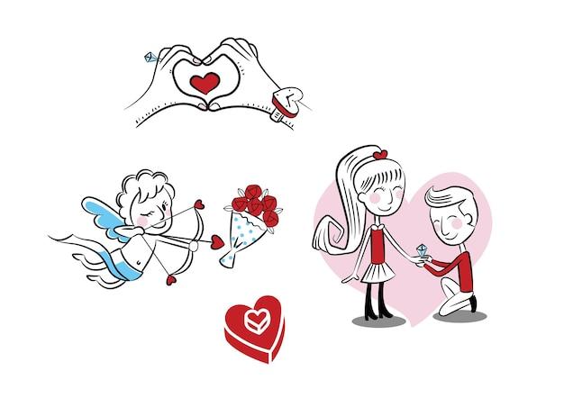 Love boy and girl