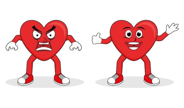 Логотип love cahracter