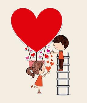 Дизайн любовных карт