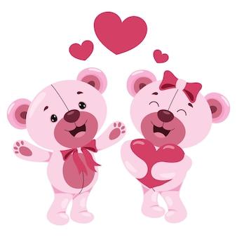 Концепция любви с мультипликационным персонажем