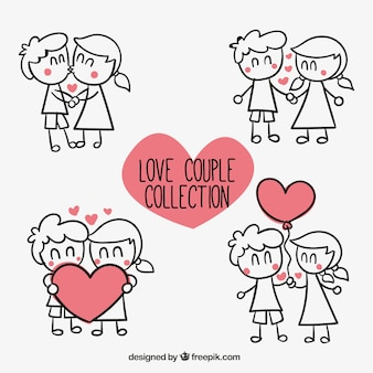 Love couple collection