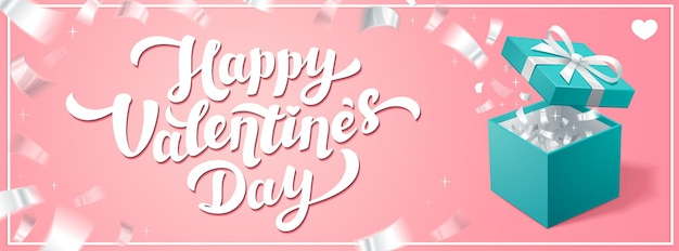 Love day horizontal banner or cover