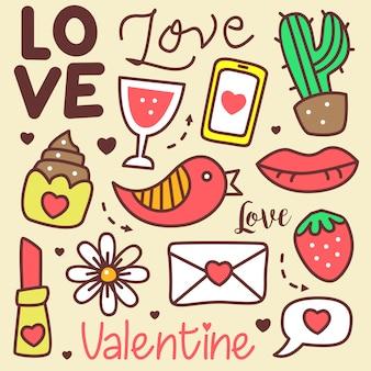 Love doodle cute