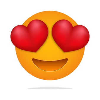 Love  emoji . heart eyes face .