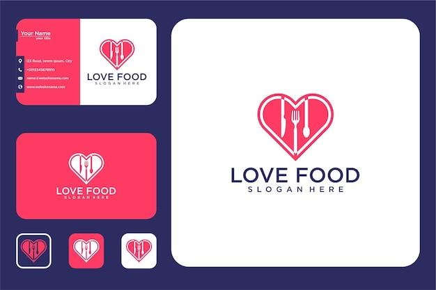 食品のロゴデザインと名刺が大好き