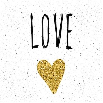 愛。デザインのための手書きのレタリングと手作りのハートは、ロマンチックなカード、招待状、tシャツ、本、バナー、ポスター、スクラップブック、アルバムなどが大好きです。