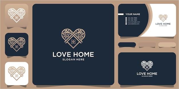 사랑의 집 로고 디자인 및 비즈니스