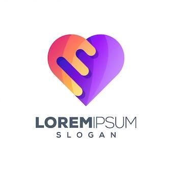 愛のインスピレーションロゴデザイン