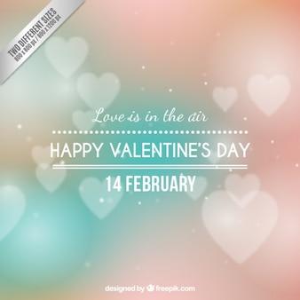 사랑은 공기 배경에있다