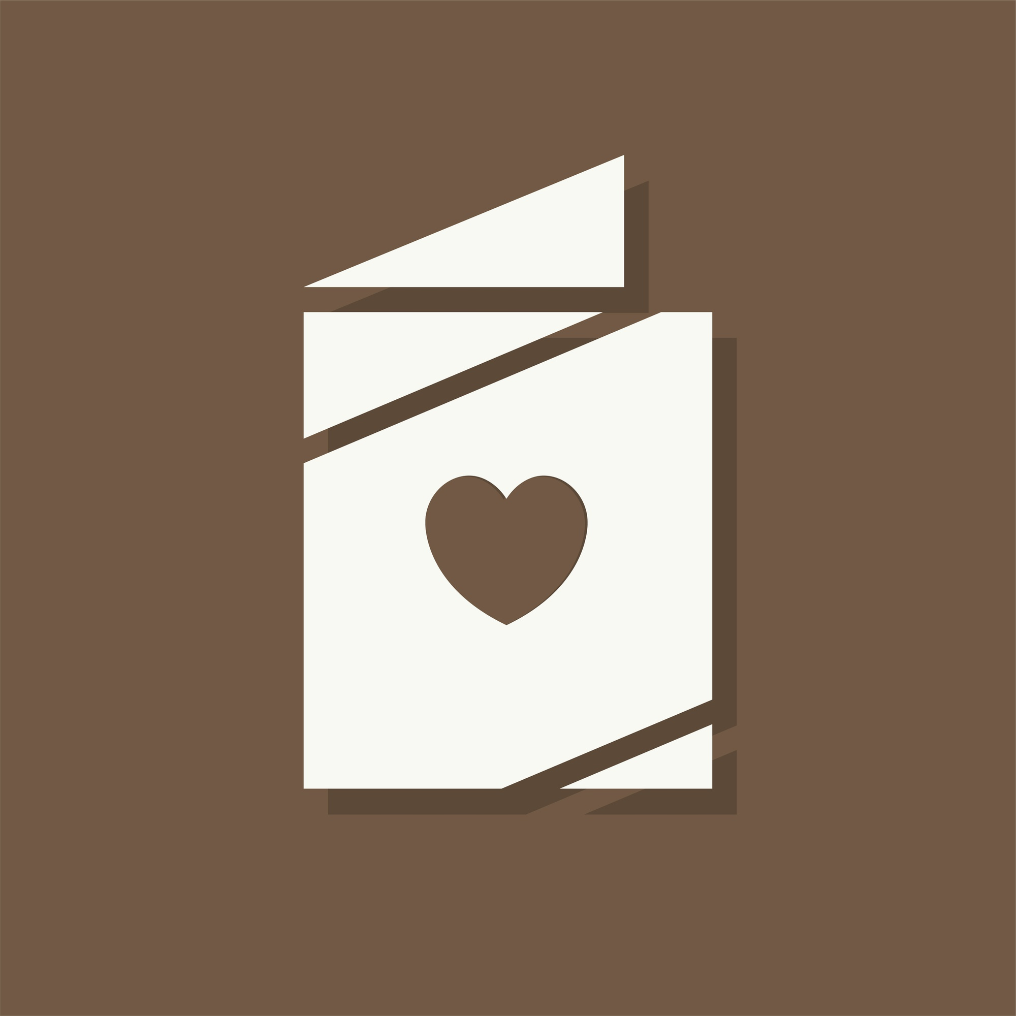 Love letter Valentines day icon