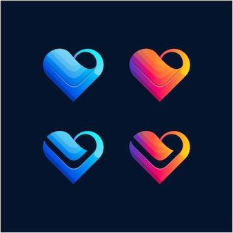 Логотип любви