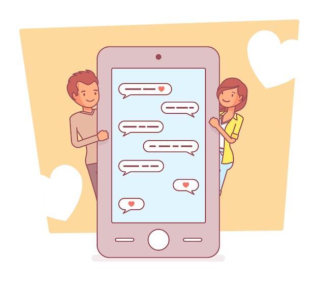 Love in messenger