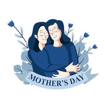 Love mother illustration