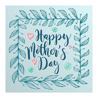 Love mother for mother's day card.